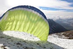 Paraglider Fotografia Stock