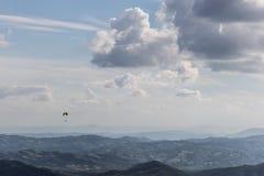 Paraglider Royaltyfria Foton
