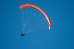 Paraglider Cape Town, Sydafrika Royaltyfria Bilder
