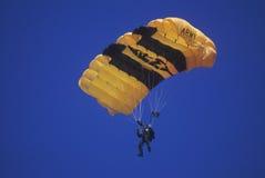 Paraglider do exército de Estados Unidos foto de stock