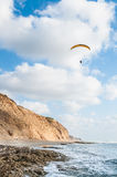 Paraglider do voo Imagem de Stock