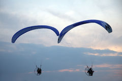 Paraglider - Feeling free Royalty Free Stock Photography