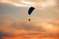 Paraglider - Feeling free on the sky Stock Photography