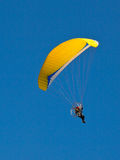 A Paraglider flie Stock Photography