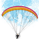 Paraglider Flight Royalty Free Stock Photography