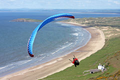 Paraglider Stock Photos