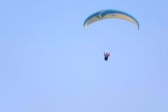 Paraglider gra Zdjęcie Stock