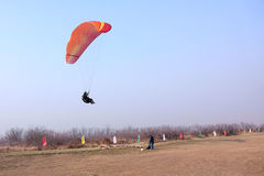 Paraglider gra Obraz Royalty Free