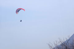 Paraglider gra Zdjęcie Royalty Free