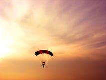 Paraglider Arkivbild