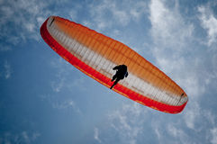 Paraglider Lost 3 Royalty Free Stock Photo