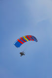 Paraglider with a motor. Stock Photography