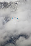 Paraglider on mountain Royalty Free Stock Photography