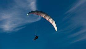 Paraglider nad Gower Obraz Stock