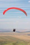 Paraglider pilot Stock Image