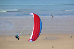 Paraglider at Rhossili Stock Image