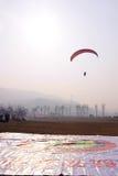 Paraglider rywalizacja Obraz Stock