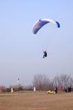 Paraglider rywalizacja Zdjęcie Stock