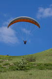 Paraglider start Stock Photography