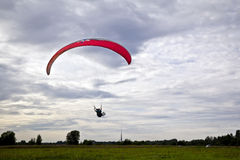 Paraglider tandem Royalty Free Stock Photo