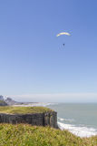 Paraglider in Torres beach Stock Images