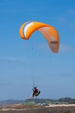 Paraglider at Torrey Pines Gliderport in La Jolla Stock Photo