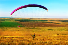 Paragliders Royalty Free Stock Photos