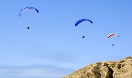 Paragliders Imagens de Stock Royalty Free