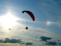 Paragliders 3 Royalty Free Stock Image