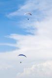 Paragliders Fotografia Stock