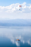 Paragliders Royaltyfri Fotografi