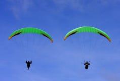 Paragliders Imagem de Stock