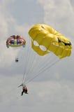 Paragliders Fotos de Stock Royalty Free