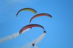 Paragliders Imagens de Stock