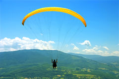paragliders Royaltyfri Foto