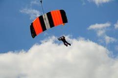 Paragliders do vôo Imagens de Stock