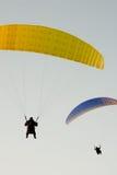 paragliders dwa Fotografia Stock