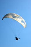 Paragliders in France Stock Photography