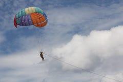 Paragliders ludzie obraz stock