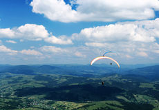 Paragliders Stock Photos