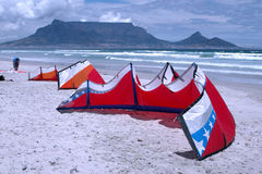 Paraglides Royalty-vrije Stock Foto