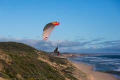 paragliding Royaltyfri Foto