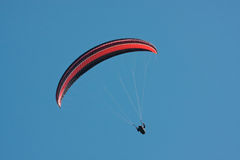 Paragliding royalty free stock photography