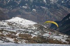 Paragliding Stock Photos