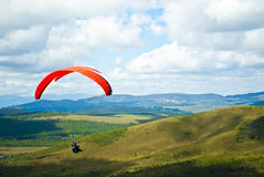 Paragliding Stock Images
