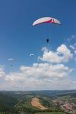 Paragliding Стоковые Фотографии RF