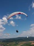 Paragliding Foto de archivo libre de regalías