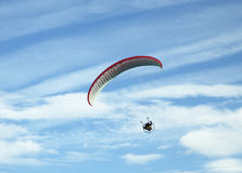 Paragliding 3 Royalty Free Stock Image