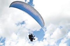 Paragliding imágenes de archivo libres de regalías