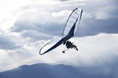 Paragliding Arkivfoto